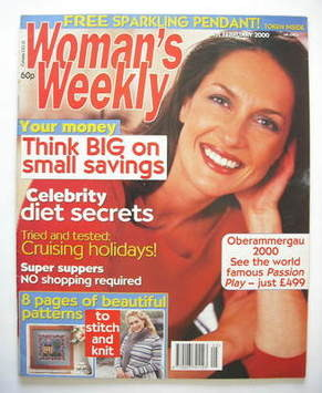 <!--2000-02-01-->Woman's Weekly magazine (1 February 2000)