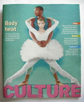 <!--2009-08-30-->Culture magazine - Melissa Hamilton and Eric Underwood cov