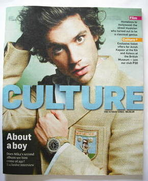 <!--2009-09-06-->Culture magazine - Mika cover (6 September 2009)