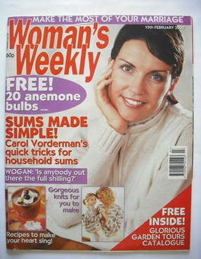 <!--2000-02-15-->Woman's Weekly magazine (15 February 2000)