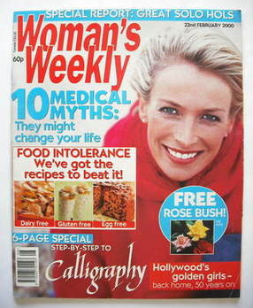 <!--2000-02-22-->Woman's Weekly magazine (22 February 2000)