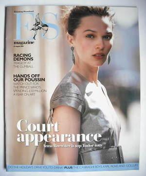 <!--2007-08-24-->Evening Standard magazine - Anna Brewster cover (24 August