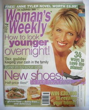 <!--2004-09-14-->Woman's Weekly magazine (14 September 2004)