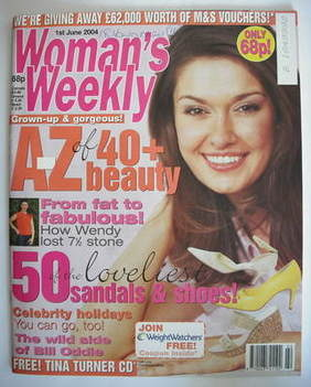 <!--2004-06-01-->Woman's Weekly magazine (1 June 2004)