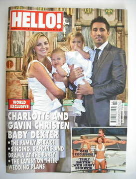 <!--2009-09-07-->Hello! magazine - Charlotte Church and Gavin Henson and fa