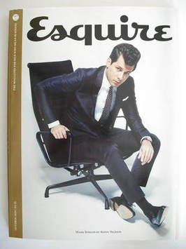<!--2009-10-->Esquire magazine - Mark Ronson cover (October 2009)