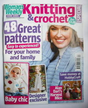 Woman's Weekly Knitting and Crochet Special magazine (2008)