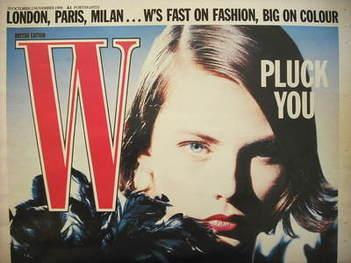 <!--1988-10-20-->W magazine (20 October - 2 November 1988)