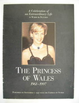 <!--1997-09-07-->Sunday Express supplement - 7 September 1997 - The Princess of Wales cover
