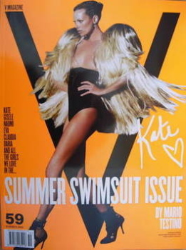 V magazine - Summer 2009 - Kate Moss cover