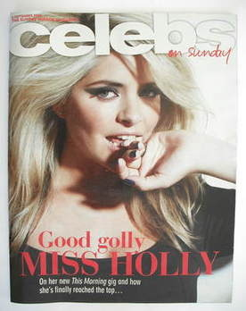 <!--2009-09-06-->Celebs magazine - Holly Willoughby cover (6 September 2009