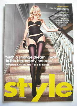 <!--2006-09-03-->Style magazine - Kate Moss cover (3 September 2006)
