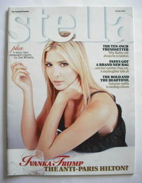 <!--2006-07-30-->Stella magazine - Ivanka Trump cover (30 July 2006)