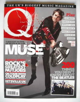 Q magazine - Muse cover (October 2009)
