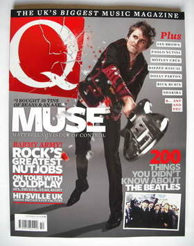 <!--2009-10-->Q magazine - Muse cover (October 2009)