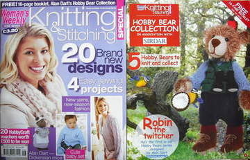 <!--2010-10-->Woman's Weekly magazine - Knitting and Stitching Special (Oct