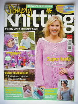 Simply Knitting magazine (Issue 41 - May 2008)