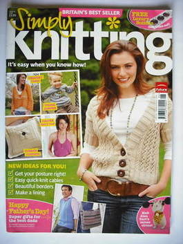 Simply Knitting magazine (Issue 42 - June 2008)