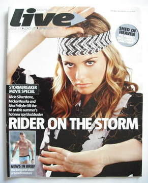 <!--2006-07-02-->Live magazine - Alicia Silverstone cover (2 July 2006)