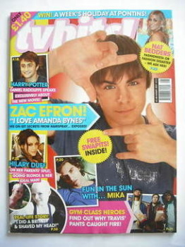 TV Hits magazine - August 2007 - Zac Efron cover