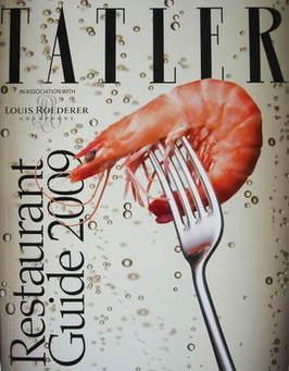 Tatler supplement - UK Restaurant Guide 2009