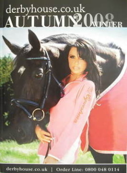 Derbyhouse brochure - Katie Price cover (Autumn/Winter 2008)