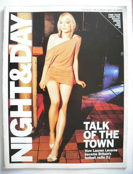 Night & Day magazine - Lauren Laverne cover (16 May 2004)