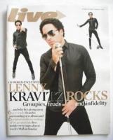 <!--2008-01-27-->Live magazine - Lenny Kravitz cover (27 January 2008)