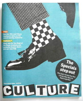 <!--2009-07-12-->Culture magazine - The Specials cover (12 July 2009)