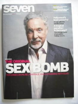 Seven magazine - Tom Jones cover (6 September 2009)