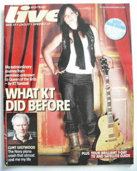 Live magazine - KT Tunstall cover (5 March 2006)