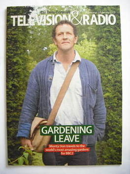 Television&Radio magazine - Monty Don cover (26 January 2008)
