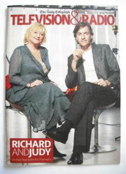 Television&Radio magazine - Judy Finnigan and Richard Madeley cover (14 June 2008)