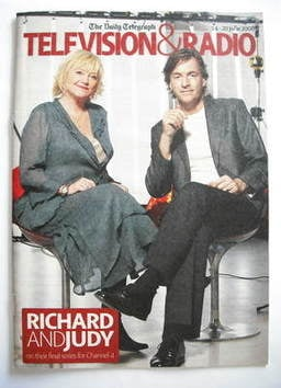 Television&Radio magazine - Judy Finnigan and Richard Madeley cover (14 Jun
