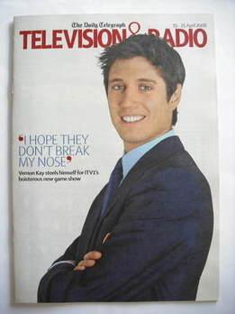 Television&Radio magazine - Vernon Kay cover (19 April 2008)