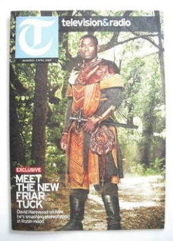 Television&Radio magazine - David Harewood cover (28 March 2009)