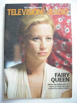 Television&Radio magazine - Denise Van Outen cover (5 January 2008)