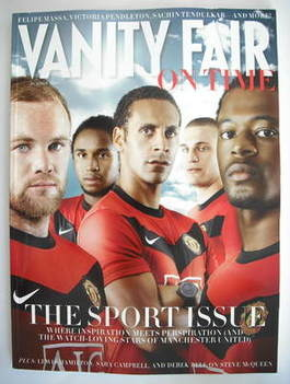 Vanity Fair On Time magazine supplement - The Sport Issue (October 2009)