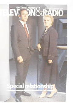 Television&Radio magazine - Jason Isaacs and Sharon Gless cover (28 October