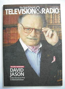 Television&Radio magazine - David Jason cover (7 April 2007)
