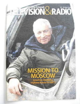 Television&Radio magazine - Jonathan Dimbleby cover (10 May 2008)