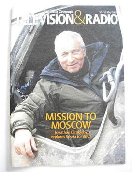 Television&Radio magazine - Jonathan Dimbleby cover (10 May 2008)