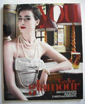 <!--2007-12-16-->You magazine - Erin O'Connor cover (16 December 2007)