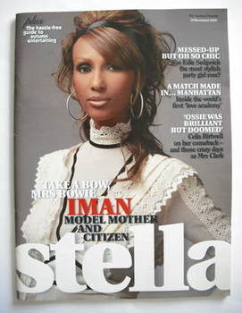 <!--2006-11-19-->Stella magazine - Iman cover (19 November 2006)