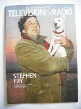 Television&Radio magazine - Stephen Fry cover (21 April 2007)