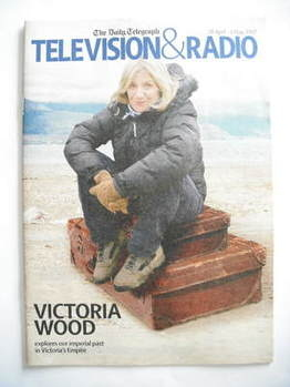 Television&Radio magazine - Victoria Wood cover (28 April 2007)