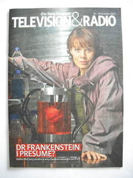 Television&Radio magazine - Helen McCrory cover (20 October 2007)