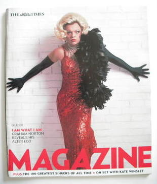 <!--2008-12-06-->The Times magazine - Graham Norton cover (6 December 2008)