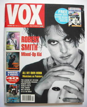 VOX magazine - Robert Smith cover (December 1990)