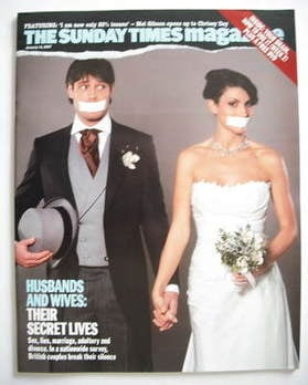<!--2007-01-14-->The Sunday Times magazine - Husbands and Wives cover (14 J